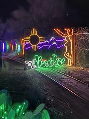 NM landscape in lights