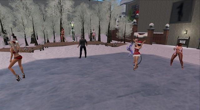 Dancin at Chi Tau.  Cassie puts on a good set.