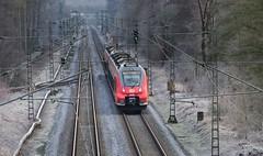 RE 9 nach Siegburg - BR 442 - Rhein-Sieg-Express