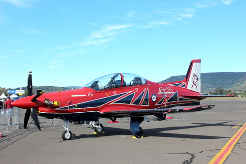A54-025 - Pilatus PC-21 - Royal Australian Air Force Roulettes Aerobatic Team