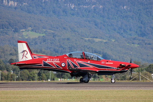 A54-023 PILATUS PC-21 - ROYAL AUTRALIAN AIR FORCE - THE ROULETTES