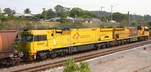 AURIZON LOCOMOTIVES CF4401 & 6029 TERALBA 30th Dec 2019.