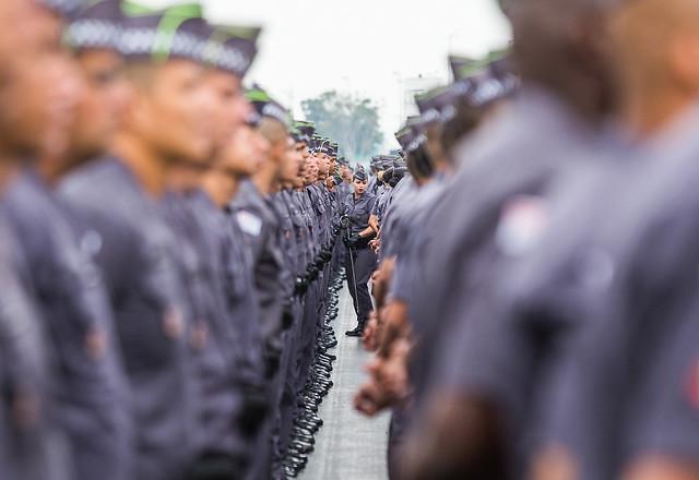 Formatura de soldados em São Paulo - Créditos:  Eduardo Saraiva/A2IMG/Fotos Públicas