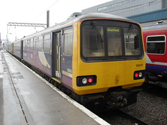 Northern Class 144 DMU 144012 at Doncaster station