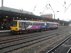 Northern Class 144 DMU 144008 at Doncaster station