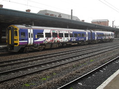 Northern Class 158 DMU 158790 at Doncaster station