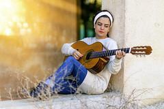 Girl Guitar Music Instrument Edited 2019
