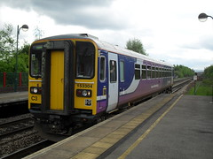 Northern Rail DMU 153304 at Meadowhall Interchange