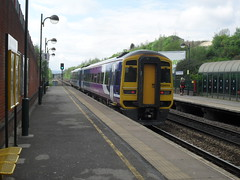 Northern Rail DMU 158859 at Meadowhall Interchange