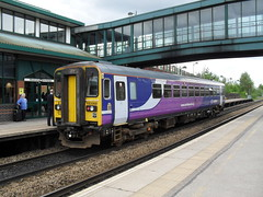 Northern Rail DMU 153358 at Meadowhall Interchange