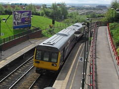 Northern Rail DMU 142094 at Meadowhall Interchange