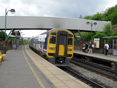 Northern Rail DMU 158903 at Meadowhall Interchange