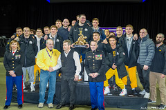 1st Place Team Iowa Hawkeyes 196.5 points