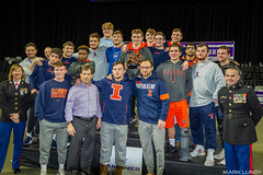 3rd place Team Illinois Fightin' Illini 94.5 points