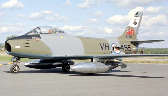 retrowar: Canadair Sabre 6