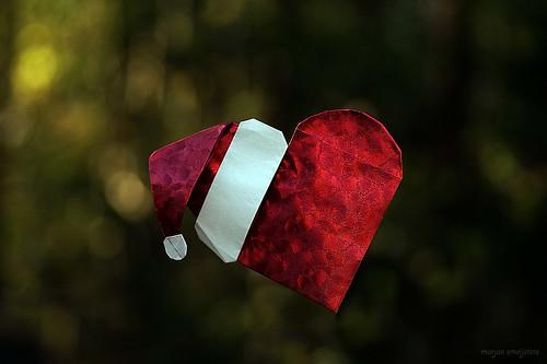 Origami Santa's Heart (Alexander Poddubny)