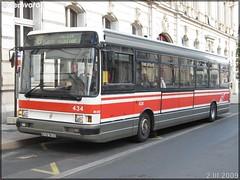 Renault R 312 – Setram (Société d'Économie Mixte des TRansports en commun de l'Agglomération Mancelle) n°434