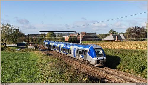 SNCF AGC BiBi 82771 @ Soignies