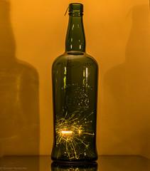 Silvester in der Flasche!