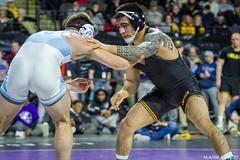 149# 1st: No. 3 Pat Lugo (Iowa) dec. No. 1 Austin O'Connor (North Carolina), 8-4