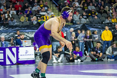 174# 1st: No. 4 Dylan Lydy (Purdue) dec. No. 5 Bryce Steiert (Northern Iowa), 3-2