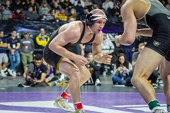 157# 1st: No. 8 Kaleb Young (Iowa) dec. Markus Hartman (Army West Point), 5-3