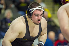 285# 1st: No. 4 Tony Cassioppi (Iowa) dec. No. 8 Matt Stencel (Central Michigan), 5-1