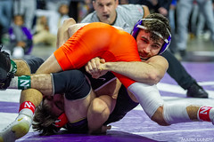 125# 1st: No. 3 Pat Glory (Princeton) dec. No. 10 Michael DeAugustino (Northwestern), 4-0