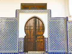 Blue City, Chefchaouene, Morocco, 摩洛哥 - the mosque