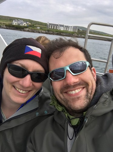 On the boat ride to Skellig Michael