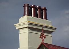 Glistening Chimney Pots