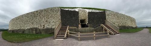 The Newgrange Passage Tomb. Also built around 3,200 BC.