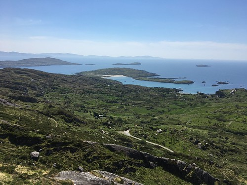 The view point at Scarriff Island