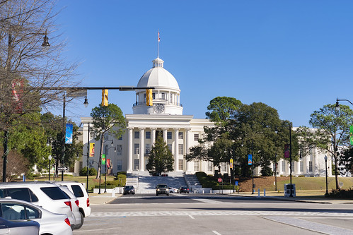 Alabama Capitol Building Side