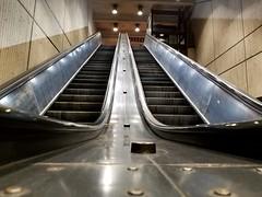 West Falls Church escalator