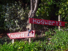 Signs to Hogwartz
