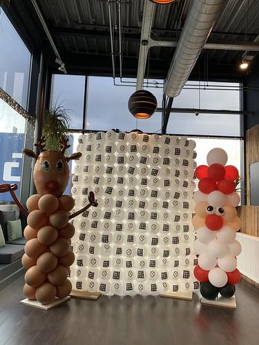 Ballonnenwand Watertuin Spijkenisse