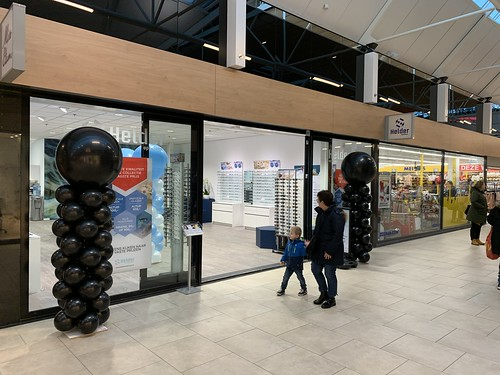 Ballonpilaar Breed Rond Black Friday Helder Optics Keizerswaard Rotterdam