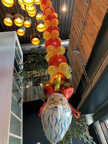 Ballonsinger Sinterklaas Watertuin Spijkenisse