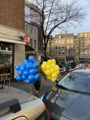 Heliumballonnen Supermercado Rotterdam