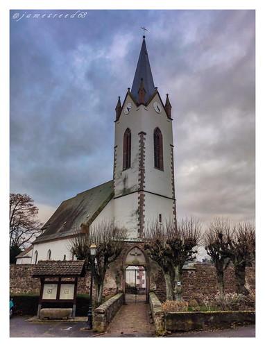 Eglise d'Hartmannswiller - Haut Rhin