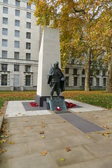 Korean War Memorial, Victoria Embankment Gardens