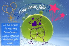 Frohes neues Jahr - Happy new Year