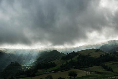 Nebel über den Hügeln bei Povoação  (© Buelipix)