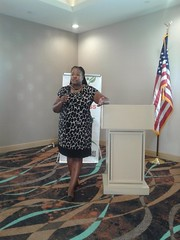 At the May 4, 2019 JMA event at the Holiday Inn in Trophy Club Texas