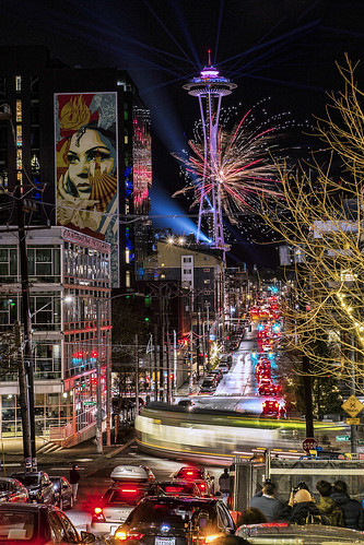 Seattle Welcomes the Year 2020
