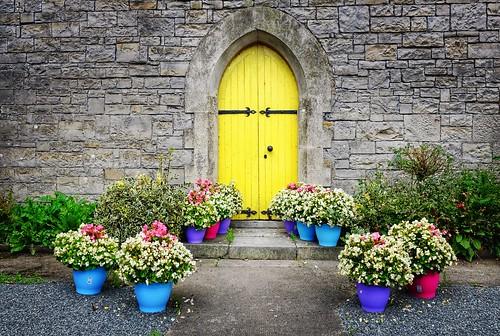The Yellow Door.