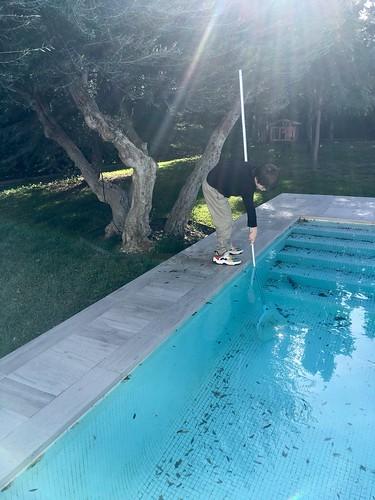 Pool boy!