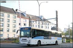Iveco Bus Crossway – CTM (Compagnie de transports du Morbihan) (CAT, Compagnie Armoricaine De Transports) (Transdev) / BreizhGo n°24045