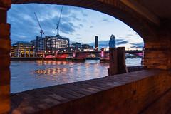 Illuminated London Bridges
